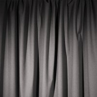 Encore Velour Pipe and Drape Panel - Pewter - CLEARANCE
