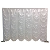 Austrian Curtain Backdrop