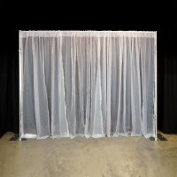 8 x 10 Voile Backdrop Kit