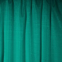 Banjo Pipe and Drape Panel - Teal - CLEARANCE