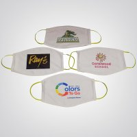Custom Printed Face Mask w/ Elastic Strap - SHIPS FREE