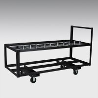 "Base Cart (for 8"" x 14"" & 16"" x 14"" pipe and drape bases)"