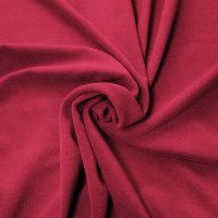 Plateau Velour Pipe and Drape Panel 8'x4' - Red - CLEARANCE