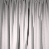Encore Velour Pipe and Drape Panel - White - CLEARANCE
