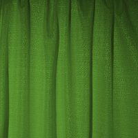Banjo Pipe and Drape Panel - Forest Green - CLEARANCE