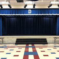 School Stage Curtains and Drapery