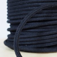 "Sash Cord #12 3/8"" Black (600' Spool)"