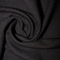 Toccoa Velour Pipe and Drape Panel 12'x8' - Black - CLEARANCE