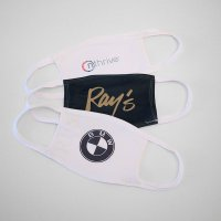 Custom Branded Face Mask - QTY DISCOUNTS - SHIPS FREE