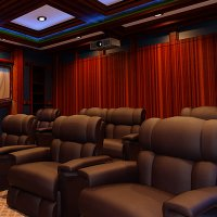 Home Theatre Curtains