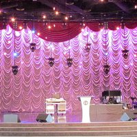 Church Curtains and House of Worship Drapery