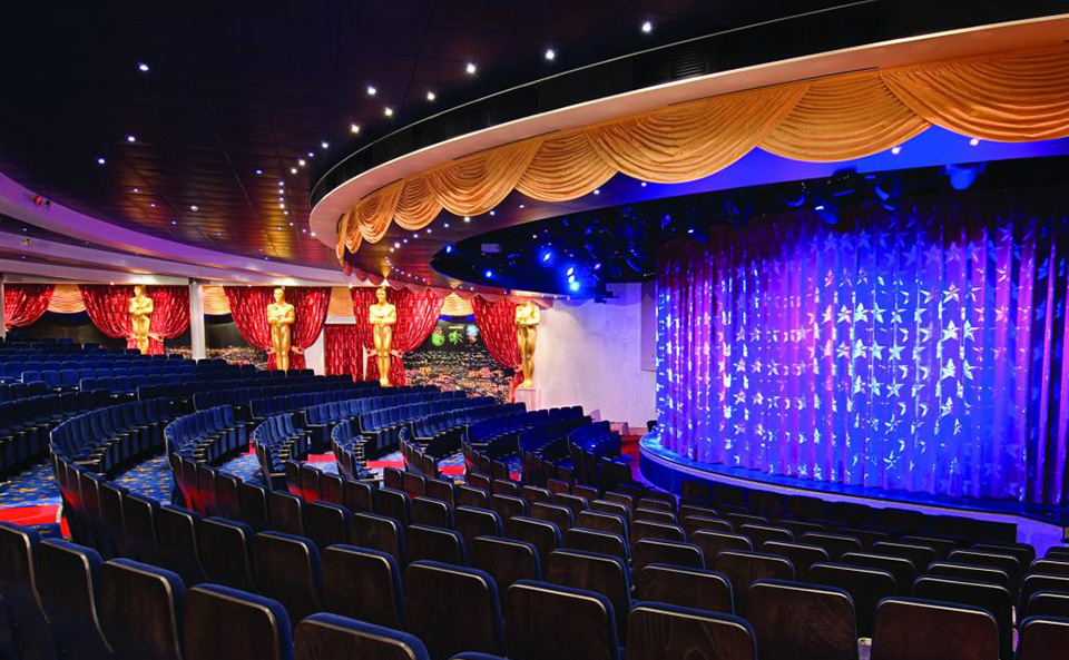 Stage Curtains for Cruise Ships, Theme Parks and Attractions