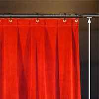 How to Measure for New Stage Curtains