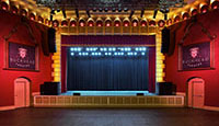 Buckhead Theatre Stage Curtains