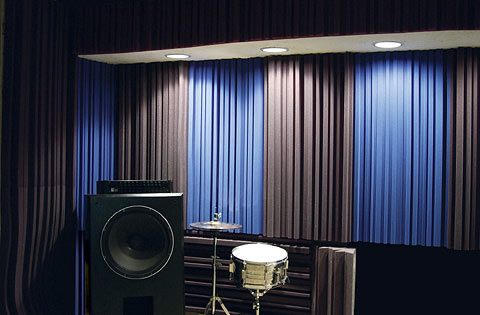 Acoustic & Sound Absorbing Curtains