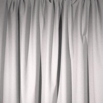 Encore Velour Pipe and Drape Panel 8'x5' - White - CLEARANCE