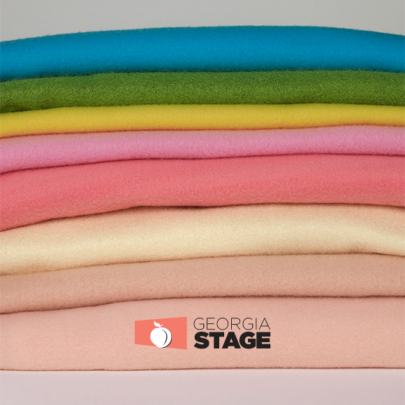 Nylon puppet fleece in colors