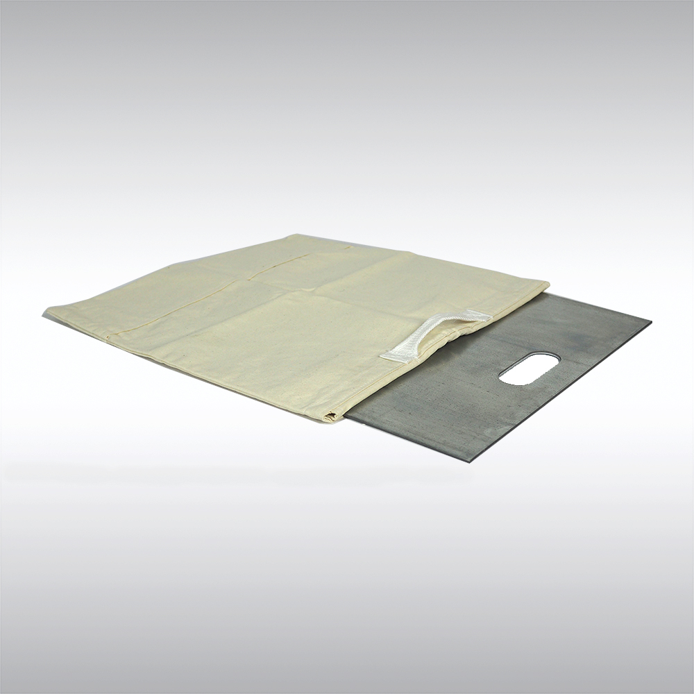 canvas base plate bag for pipe and drape storage