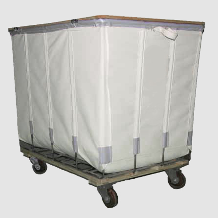 canvas hamper drapery storage