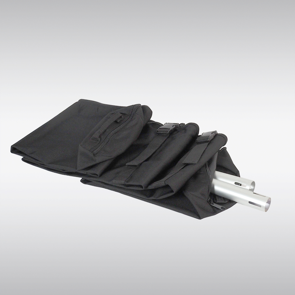 heavy duty pipe bag for pipe and drape storage